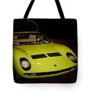 1968 Lamborghini Miura S Tote Bag