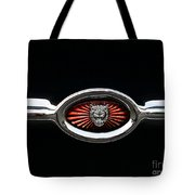 1973 Jaguar Type E Emblem Tote Bag