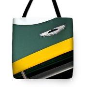 1993 Aston Martin Dbr2 Recreation Hood Emblem Tote Bag by Jill Reger