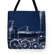 19th Century Locomotive Tote Bag