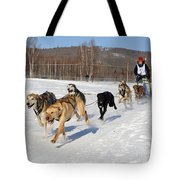 2010 Limited North American Sled Dog Race Tote Bag