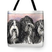 3 Bearded Ladies Tote Bag