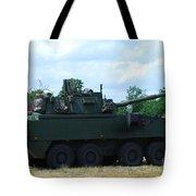 A Belgian Army Piranha IIic Tote Bag