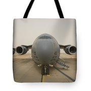 A C-17 Globemaster IIi Sits Tote Bag