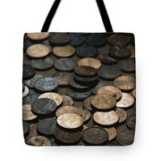 A Close View Of American Money Tote Bag