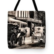 A Cowgirls Limousine Tote Bag