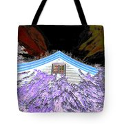 A Flowery House In Norway Tote Bag