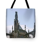A Forest Of Spires - St Vitus Cathedral Prague Tote Bag