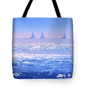 A Good Day For Sailing Tote Bag