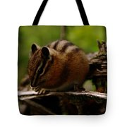 A Little Chipmunk Tote Bag