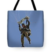 A Member Of The Pathfinder Platoon Tote Bag