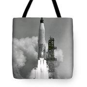 A Nasa Project Mercury Spacecraft Tote Bag