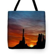 A New Day At The Totem Poles Tote Bag
