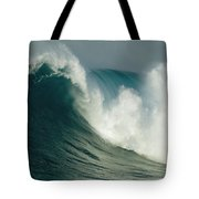 A Powerful Wave, Or Jaws, Off The North Tote Bag