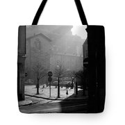 A Square In Old Brussels Tote Bag