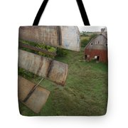 A Turn-of-the-century Peg Barn As Seen Tote Bag