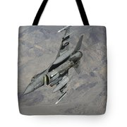 A U.s. Air Force F-16 Fighting Falcon Tote Bag