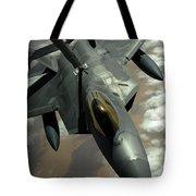A U.s. Air Force F-22 Raptor Tote Bag