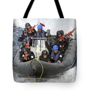 A Visit, Board, Search And Seizure Team Tote Bag