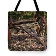 Abandoned Wagon Tote Bag