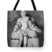 Abbott And Costello Tote Bag by Granger