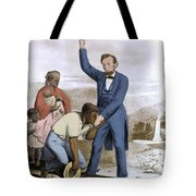 Abraham Lincoln, 16th American President Tote Bag by Photo Researchers, Inc.