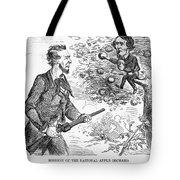 Abraham Lincoln Cartoon Tote Bag