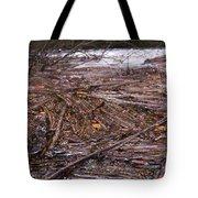 Abstract Flood Tote Bag