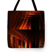 Abstract Forty-seven Tote Bag