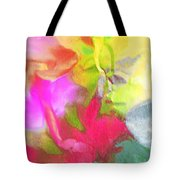 Abstract Garden Impressions Tote Bag