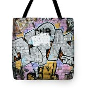 Abstract Graffiti  Tote Bag