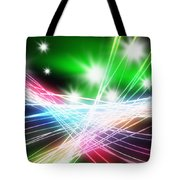 Abstract Of Stage Concert Lighting Tote Bag