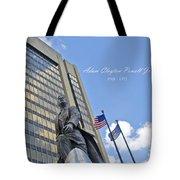 Adam Clayton Powell Jr Tote Bag