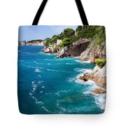 Adriatic Sea Coastline Tote Bag