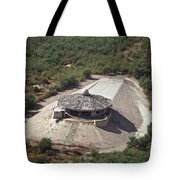 Aerial View Of A Destroyed Iraqi Tote Bag