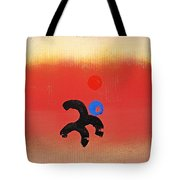 African Figure Tote Bag