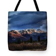 Alaskan Morning Tote Bag