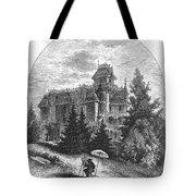Albert Bierstadt (1830-1902) Tote Bag by Granger