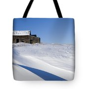 Alberta, Canada Abandoned Farm Building Tote Bag by Philippe Widling