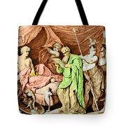 Alexander The Great And His Physician Tote Bag