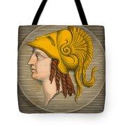 Alexander The Great, Greek King Tote Bag