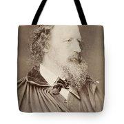 Alfred Tennyson Tote Bag