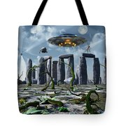 Alien Interdimensional Beings Recharge Tote Bag