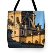 Almudena Cathedral In Madrid Tote Bag
