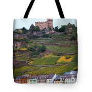 Along The Rhine River Tote Bag