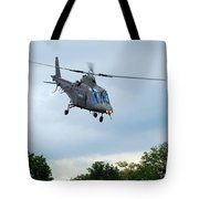 An Agusta A109 Helicopter Tote Bag