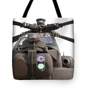 An Ah-64d Apache Helicopter Tote Bag