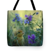 An Attwaters Prairie Chick Surrounded Tote Bag