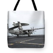 An E-2c Hawkeye Launches Off The Flight Tote Bag