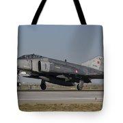 An F-4 Phantom Of The Turkish Air Force Tote Bag